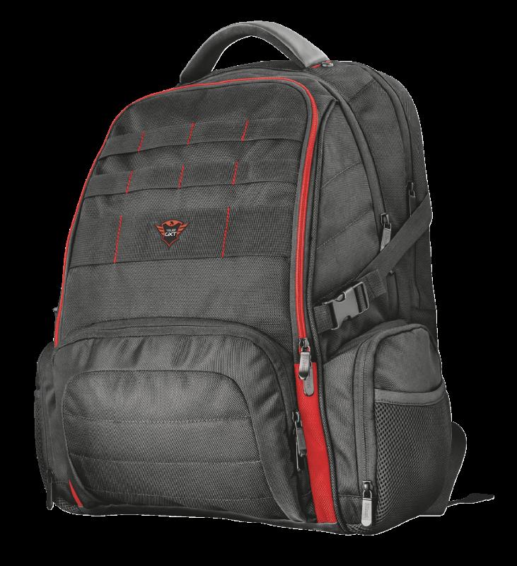 """Надежный игровой рюкзак для ноутбуков диагональю 17,3"""", клавиатуры, джойстика, мыши, наушников и коврика."""