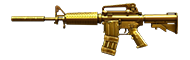 M4A1-S-Dual Mag-Ultimate Gold